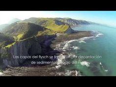 FLYSCH de ZUMAIA, DEBA y MUTRIKU. Vista aérea. - YouTube