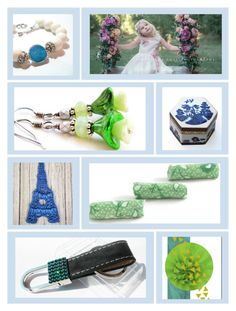 """""""Summer Fun"""" by fibernique ❤ liked on Polyvore featuring Royal Doulton and etsy"""