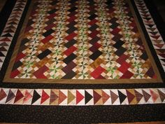 Must remember this colorway for BH's Tobacco Road.  Love it!  If you love Bonnie Hunter's quilts, there are 33 beautiful ones to ogle in this pin!  Stunners, all!