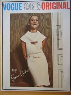 I would lower that neckline a bit, but these vintage vogue patterns are unmatched. love.