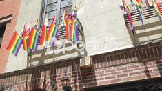Stonewall Inn Gay Bar , New York City , Historic Marriage Equality Ruling. Gay Rights Movement, Stonewall Inn, New Press, Historical Landmarks, Stock Footage, Equality, New York City, Marriage, Bar