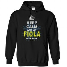Awesome Tee (KeepCalmNew) Keep Calm And Let FIOLA Handle It T shirts