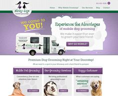 Ambers mobile pet salon trailer mobile pet grooming trailers for stinky dogs mobile grooming site solutioingenieria Images