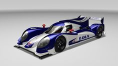 The new Lola B12/60 LMP1 car. One of the most staggeringly sexy prototypes since the introduction of Audi's R18.