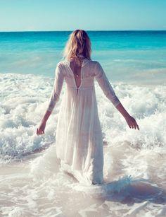 let the waves take me far away