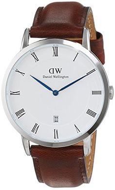 Daniel Wellington Herren-Armbanduhr Analog Quarz Leder 1120DW - http://uhr.haus/daniel-wellington/daniel-wellington-herren-armbanduhr-analog