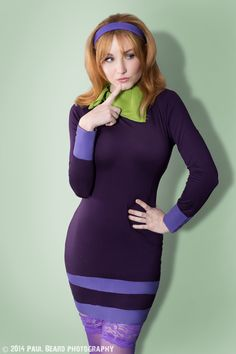 Scooby doo daphne sexy cosplay