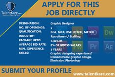 A job seeking platform that allows employers to post and job-seekers to search. Candidates can make their own TalentKare-Talent Acquisition in India Resume  to use in job applications. The site even recommends jobs!