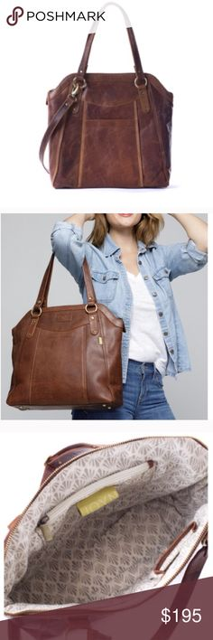 NWT Joyn Brown Leather Purse I just purchased this purse on Poshmark and it is gorgeous! It is just not exactly what I am looking for...super sad about it. It is a great bag with two sets of handles and a beautiful inside. Online it is $250, but I bought it for $195 Joyn Bags