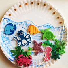 46 best Paper Plate Crafts images on Pinterest | Paper plate crafts ...