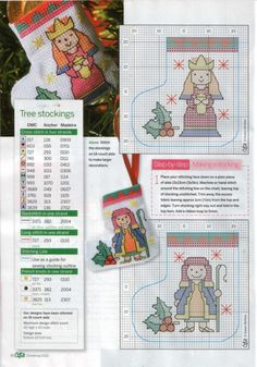 Gallery.ru / Фото #30 - Cute Cross Stitch №3 Christmas 2013 - WhiteAngel