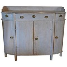 Late Gustavian Antique Sideboard, circa 1810