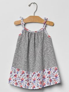 Contrast floral dress Product Image