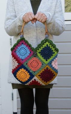 "Crochet ""Not Your Granny's Gra"