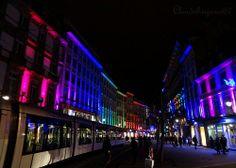 Into the rainbow city