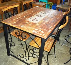 Wooden Dining Table Designs, Wooden Dining Chairs, Wood Bed Design, Used Woodworking Tools, Wood Beds, Phone, Furniture, Timber Kitchen, Wood Art