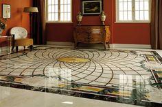 Check out special tips for liquid porcelain flooring. We have prepared a post re . - 3 D Floors - Welcome Haar Design 3d Floor Art, 3d Floor Painting, Painting Tile Floors, Floor Murals, Painted Floors, Tile Design, Glass Design, Epoxy Floor Designs, 3 D