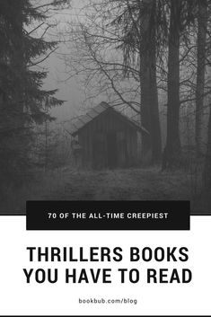 Love twisty books? Add these creepy thriller books to your summer reading list! #thrillers #bookfans #reading