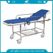 AG-HS013 Economic patient strapping device medical cheap price transfer stretcher for sale