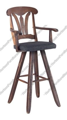 Canadel Champlain Swivel Bar Stool with Arms - STO 1261