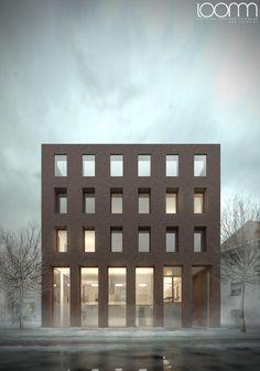 Hauer Architekten - Gütersloh - Neubau Bürogegäude - loomn