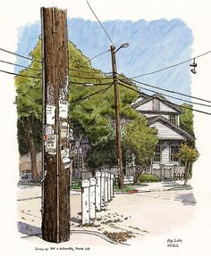 Art journal/sketchbook. Urban Sketchers