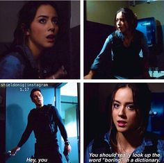 Agents of SHEILD | Skye and Ward