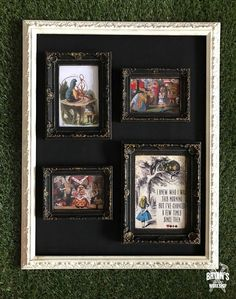 Turn $1 Picture Frames Gorgeous!