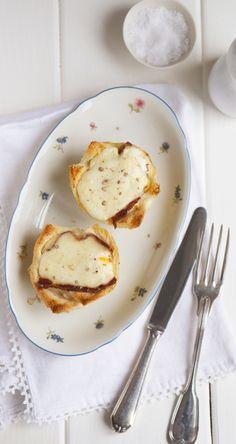 Croque Madame Muffins. Adapted from The Little Paris Kitchen by Rachel Khoo | eatlittlebird.com