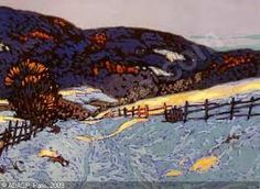 Frank Johnston (June 1888 – July was a Canadian artist associated with the Group of Seven. Tom Thomson, Emily Carr, Canadian Painters, Canadian Artists, Nature Paintings, Landscape Paintings, Group Of Seven Paintings, Winter Landscape, Art History