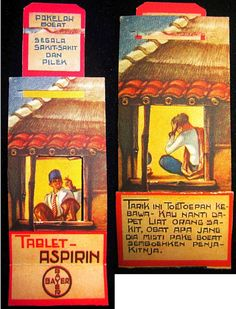 Tablet Aspirin Vintage Stamps, Vintage Ads, Vintage Posters, Old Advertisements, Advertising, Old Commercials, Dutch East Indies, Old Ads, Illustrations And Posters