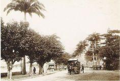 Bondes em Praia de Botafogo Rio de Janeiro -1890- Marc Ferrez
