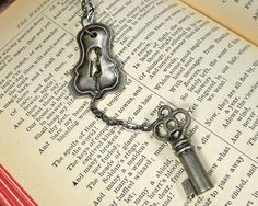Key and Lock necklace.