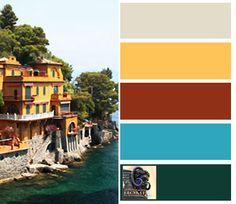 Tuscan Coastal Decorating Colors