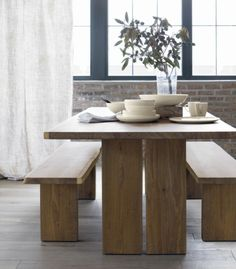 """Dakota 77"""" Dining Table in Dining Tables 