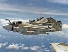 VA-85 A-6E Intruder formation | Flickr - Photo Sharing!