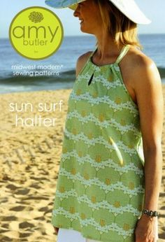 Amy Butler Sun Surf Halter Sewing Pattern - FREE SHIPPING by iTrust for $15.95