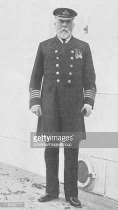 Captain Edward John Smith RD RNR January 27 1850 to April 15 1912 Captain of RMS Titanic who went down with the ship
