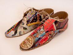 Cardboard Shoes (beatles album artwork) More Pins Like This At : FOSTERGINGER @ Pinterest.