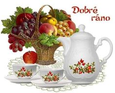 dobré ráno (63 pieces) Joelle, The Flash, Good Morning, Tea Pots, Puzzle, Cartoon, Night, Quotes, Good Day