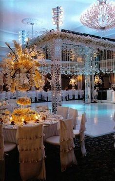 Grace Ormonde Wedding Style  Platinum Member; Oheka Castle, Huntington, NY - how is that dance floor!!!