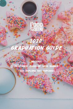 Let's celebrate the class of 2020!  From fun recipes to a free printable graduation banner, here are a few ways to make your 2020 grad party at home extra special. Graduation Banner, Diy Banner, Fun Recipes, Class Of 2020, Grad Parties, Free Printables, Good Food, Make It Yourself, Party