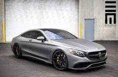 Pinterest: @cheetahgrljas93 Grey Mercedes S63 AMG Coupe