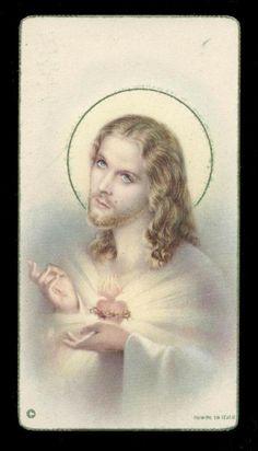 Heart Of Jesus, Fantasy Pictures, Prayer Cards, God Loves Me, King Of Kings, Sacred Heart, Christian Art, God Is Good, New Beginnings