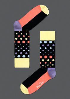 Disco Dot Sock