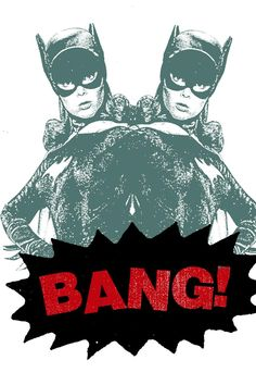 $20 Print Mafia Bang! - Batgirl Poster - Only on JackThreads: http://www.jackthreads.com/invite/tobytoby7