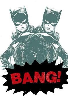 $20 Print Mafia Bang! - Batgirl Poster - Only on JackThreads: http://www.jackthreads.com/invite/tobytoby7