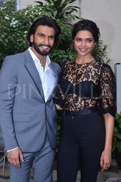 Ranveer and Deepika clicked