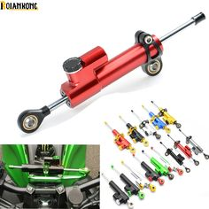 CNC Aluminum Motorcycle Steering Damper Stabilizer Linear Safe Control for Honda CBR1100XX CBR300R CB300F FA CBR500R CB500F X #Affiliate