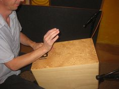 Suspended cajon recorded with 3 JZ BT-201 microphones